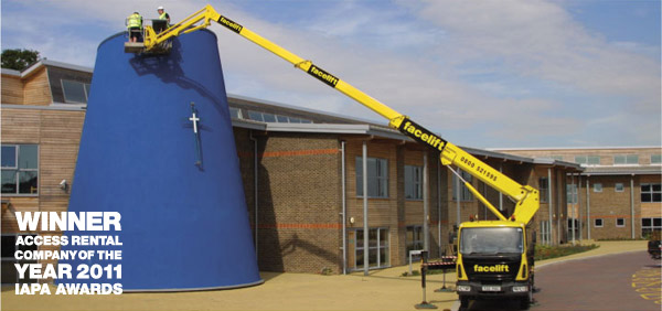 Ascendant 22m cherry picker burgess hill, hickstead, sussex,