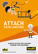 Attach Your Lanyard Poster