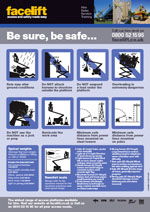 Facelift Access Platform Safety Poster