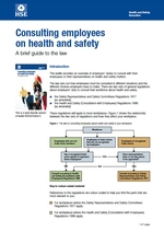 Consulting employees on health and safety - a brief guide to the law