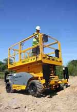 Rough Terrain Hire Fleet July 2008