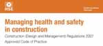 Managing health and safety in construction