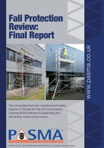 Fall Protection Review: Final Report - for PASMA Training