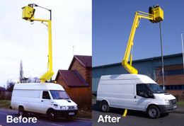 £5,000 trade in scheme for van mounts - Guaranteed