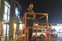Cherry picker capers in Gloucester and Leeds