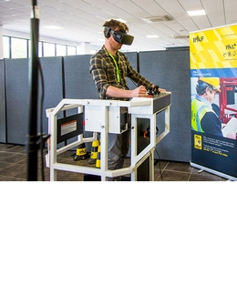 IPAF to trial virtual reality advanced operator tests using simulators