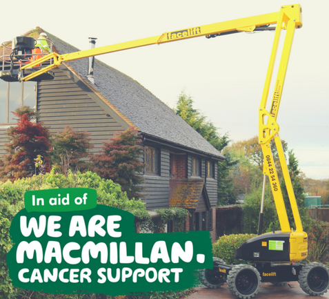 £10 of your booking goes to MacMillan