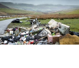 Fly-tipping: Asbestos rubbish dumping in Wales hits 10-year high