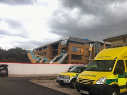 Five injured in scaffold collapse at Telford Academy