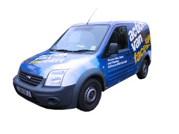 Our new highly economical 'Action Van'
