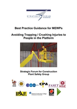 Best Practice Guidance for MEWPs    Avoiding Trapping / Crushing Injuries to People in the Platform