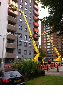 Facelift assist in the removal of tower block cladding following Grenfell Tower fire