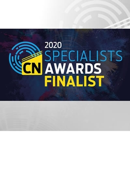 Shortlisted for Construction news awards 2020