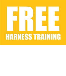 Free Harness Training - When you book an IPAF course