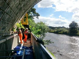 Moog 230 put to the test on the River Tweed