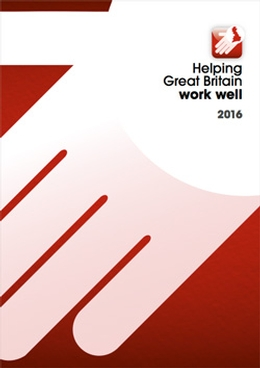 Helping Great Britain work well strategy - HSE Publication