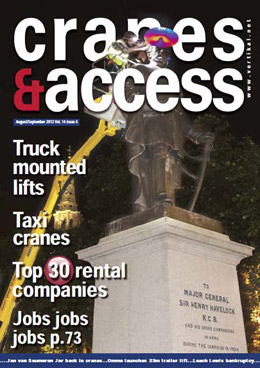 High Fashion:  Project featured in Cranes and Access Magazine