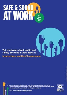HSE promotes employee involvement in health and safety