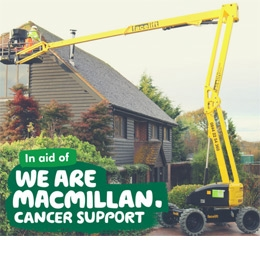 Training courses donate to MacMillan Cancer Support