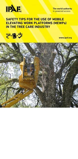 IPAF publishes safety tips for using MEWPs in tree care