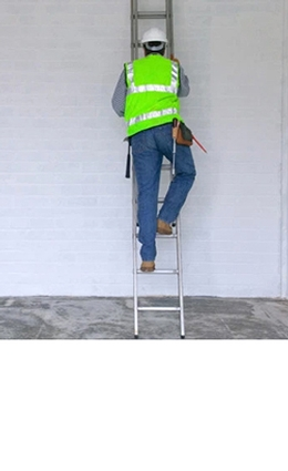 Councils bans use of ladders