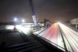Timelapse video released of Bedfordshire M1 bridge installation
