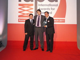 Mills Rental wins the Access Company of the Year award at the IAPA Awards 2012