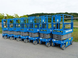 New Genie GS1932 scissor lifts for sale at 2011 prices!