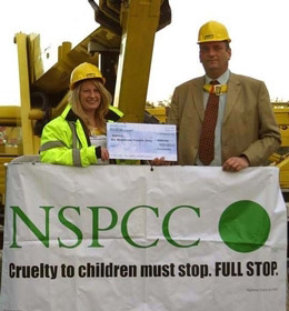 Facelift donates Christmas card money to the NSPCC
