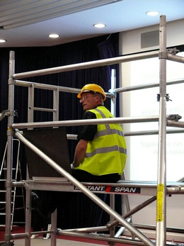 Eddie & Trish - Work at height safety in York