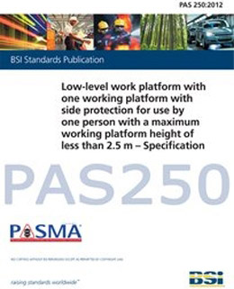PASMA cracks down on unsafe low level platforms with minimum safety standard
