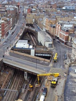 Powered access rail expertise - Central London