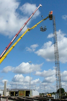 Facelift Access Hire and Universal Aerial Platforms have the reach for All Rail Jobs.