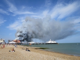 Worker death on Eastbourne Pier