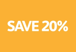Up to 20% off full courses booked in August