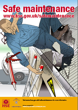 Keep things in check, with the Health and Safety Executive's Safe Maintenance Campaign