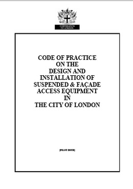 The City of London and working at height