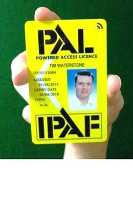Smart PAL Card from IPAF set to improve site safety