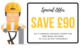 IPAF Training offer - SAVE £90