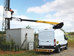 FACELIFT INVESTS IN 32 VERSALIFT FORD TRANSIT VAN MOUNTED PLATFORMS