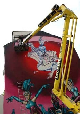 Facelift Helps Graffiti Artists !
