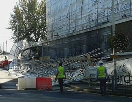UK Scaffold Collapse