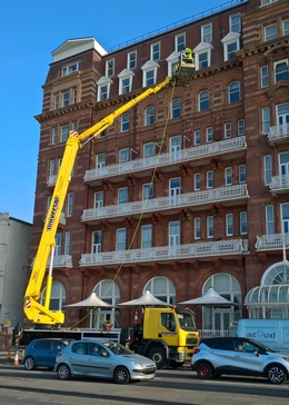 Facelift on Brighton seafront