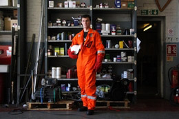 ZT launch their latest product....  The ZT Flame Retardant Coverall