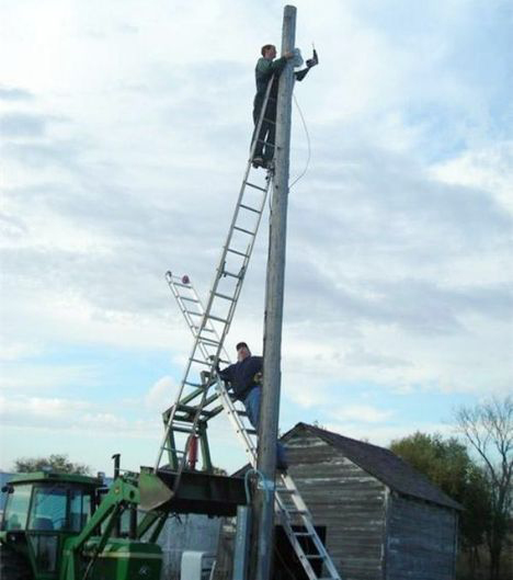 Picture of Ladder training, Learn to use a ladder safely