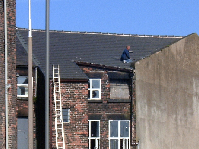 Picture of Roof Tiling at Risk