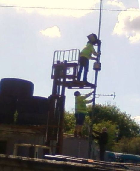 Picture of Work at height fail