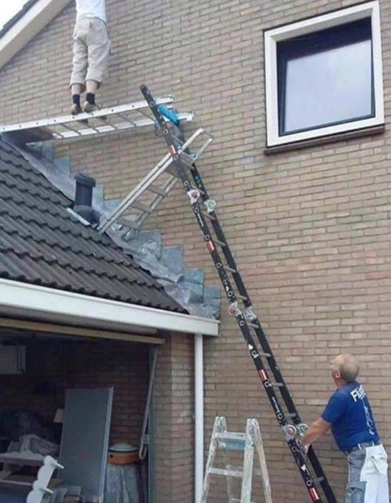 Picture of This many ladder combo makes us cringe