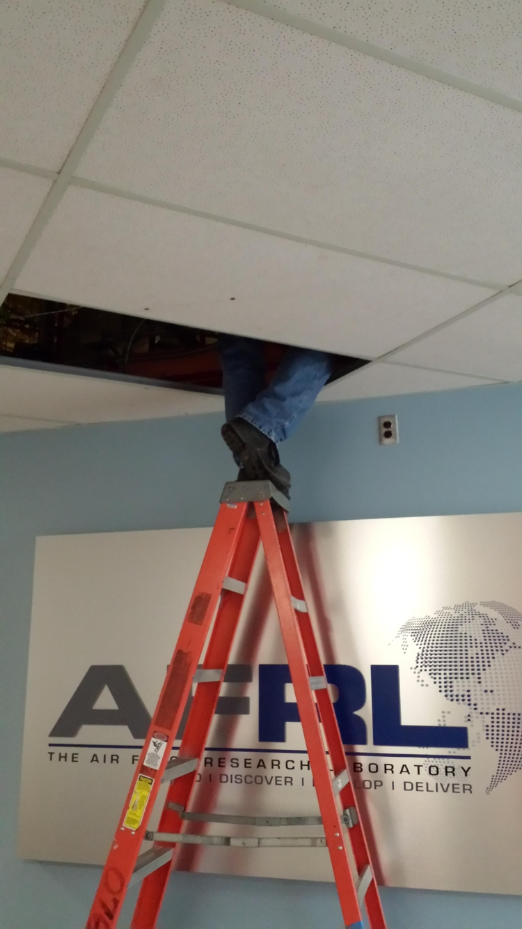 Picture of Ready to slip off the ladder top