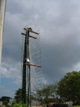 Tower Platform with Open Access